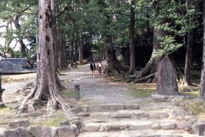 竹田神社「いにしえの道」