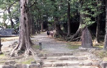 竹田神社「いろは歌」-いにしへの道-