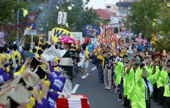 南さつまフェスタふるさと総踊り-1500名よる勇壮絢爛な総踊り-