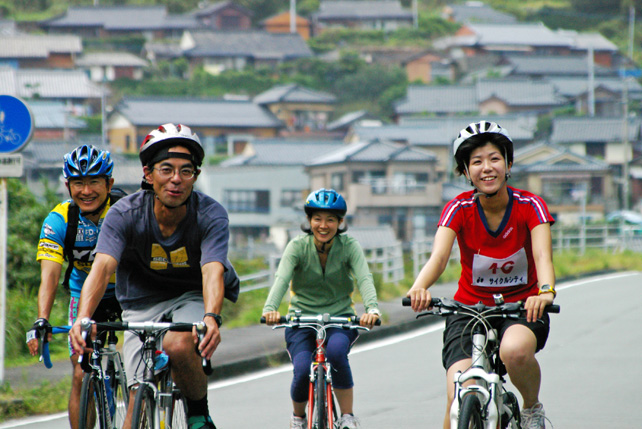 サイクリング-レンタルサイクルが充実しています-