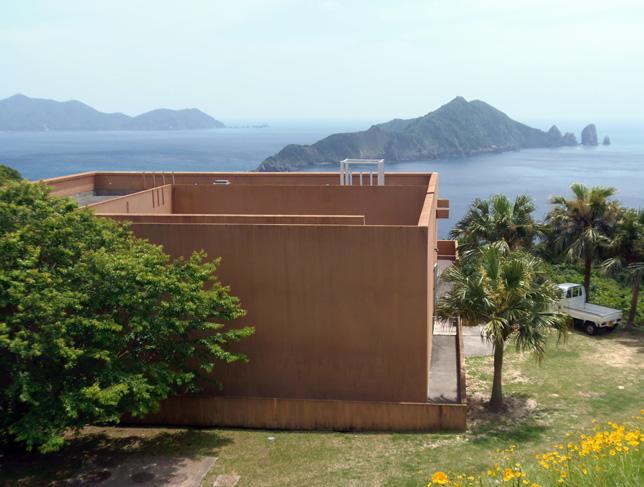 黒瀬展望ミュージアム笠沙美術館-デッキから望む東シナの景観が最高-
