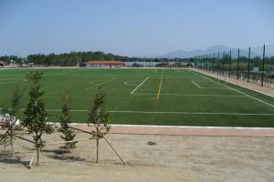 人工芝サッカー場
