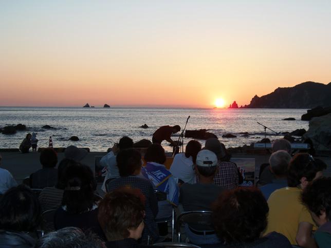 夕日コンサートin野間池-美しい夕日と音楽で癒されるイベント-