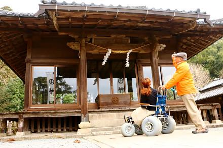 いにしへガイドとランディーズで歩く竹田神社といにしへの道