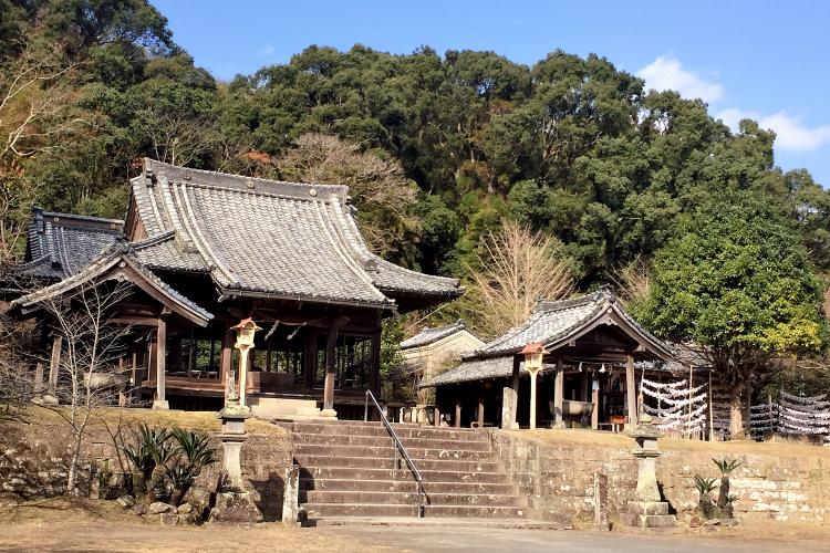 竹田神社・いにしへの道