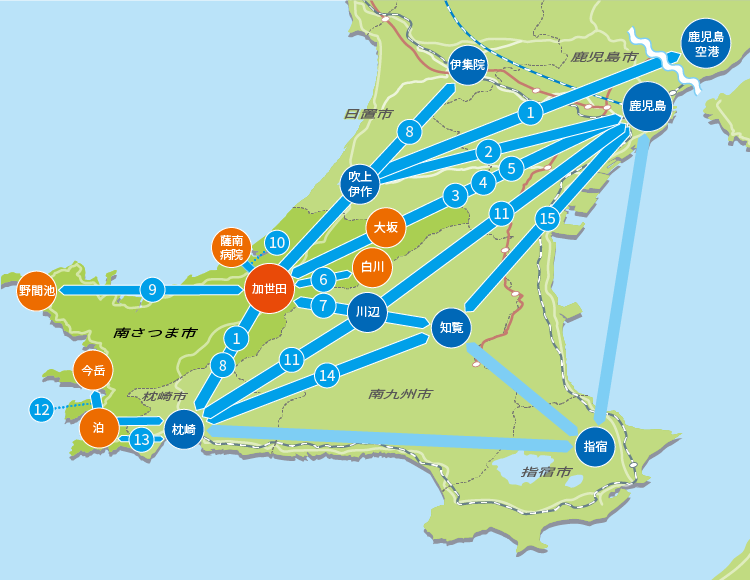 路線バス運行マップ