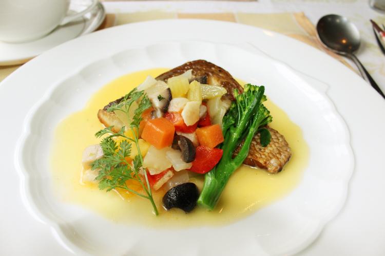 フルハウスのお魚料理