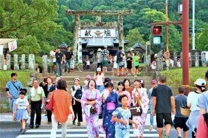 竹田神社のお祭り