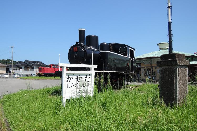 保存展示されている蒸気機関車