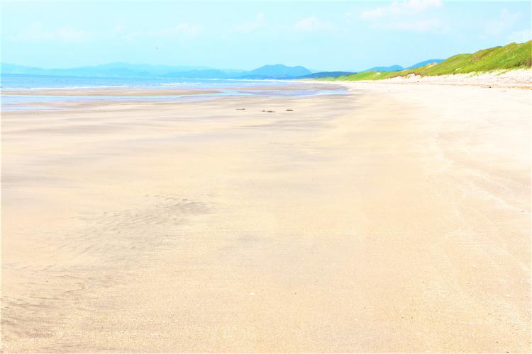 日本三大砂丘吹上浜