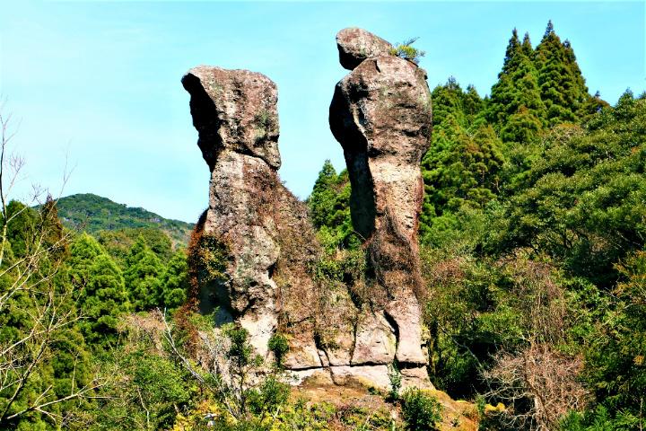 内山田の陰陽石