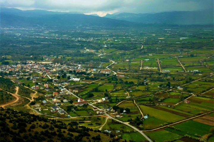 ギリシャ イオアニアの眺望