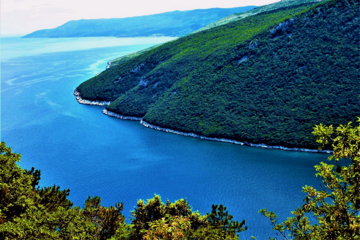 クロアチアの海岸線