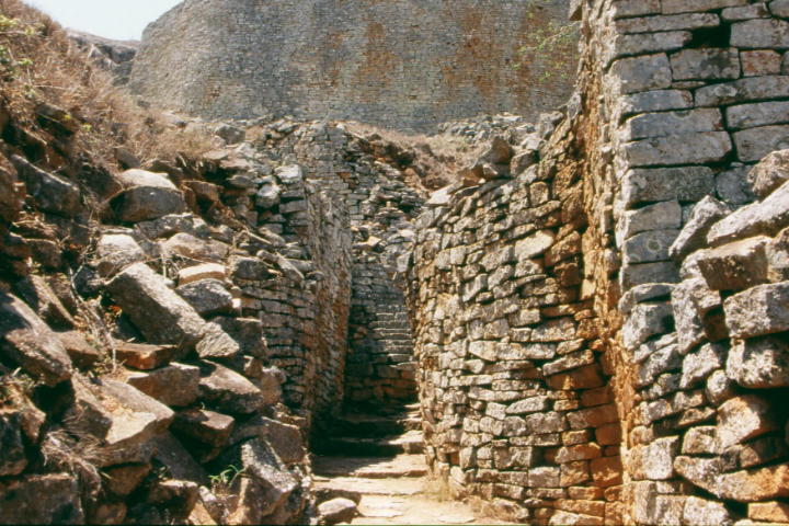 世界文化遺産 グレート・ジンバブエ遺跡