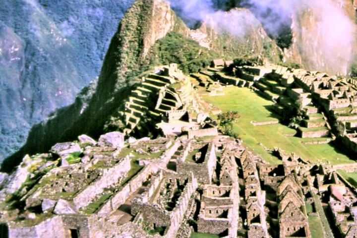 世界複合遺産 マチュピチュ遺跡