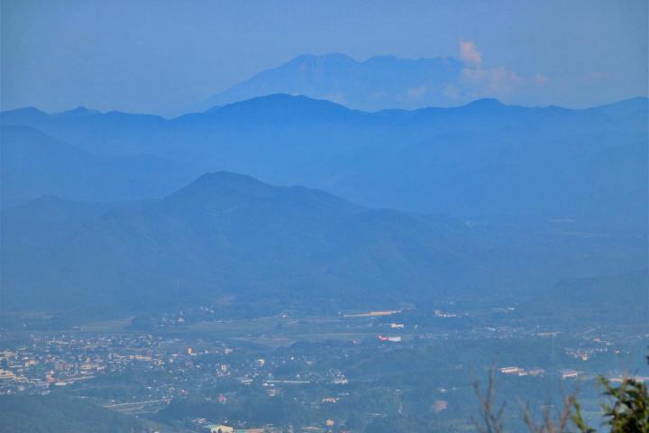 長屋山からの眺望