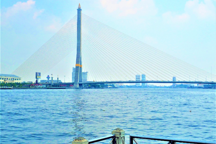 バンコクに架かる橋 ラマ8世橋