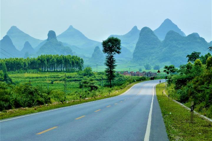 中国 桂林の景色
