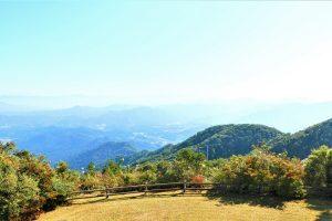 長屋山からの眺め