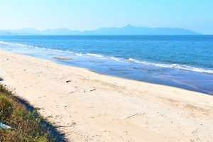 東シナ海と吹上浜