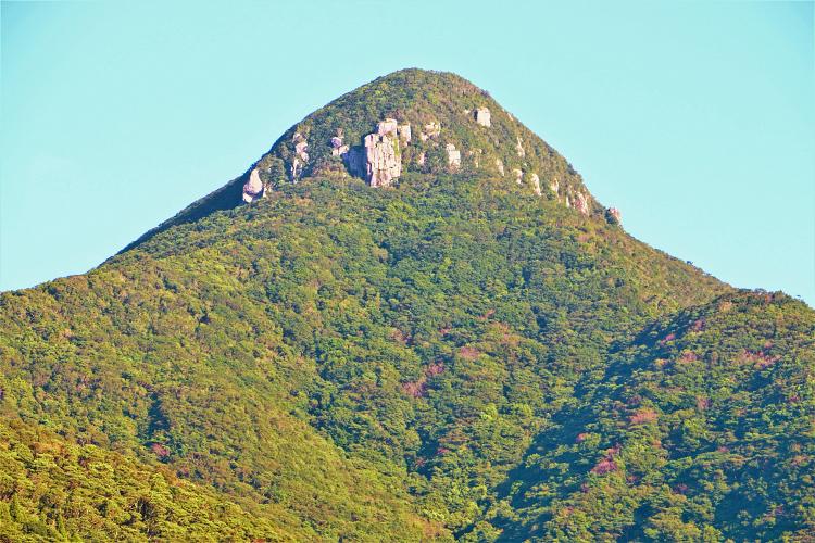 野間岳山頂