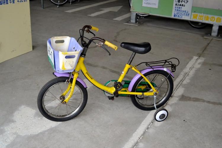 自転車 16インチ(補助輪付)