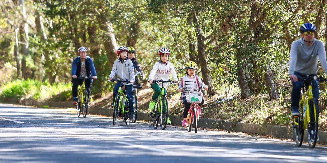 子ども連れに大人気!公園サイクリング