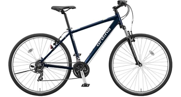 クロスバイク E.B アイリッシュネイビー