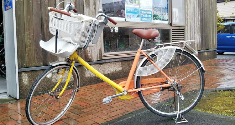 幼児前乗せ普通自転車