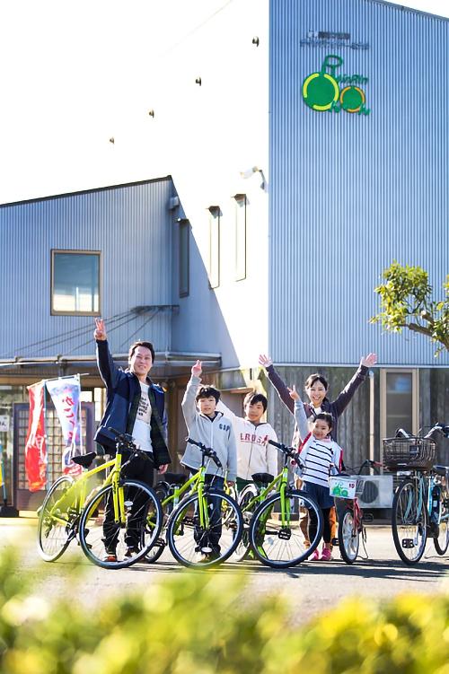 サイクリングの情報を集めよう!