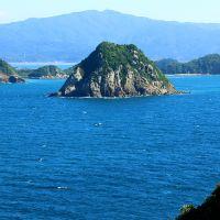 高崎山展望所からの眺め
