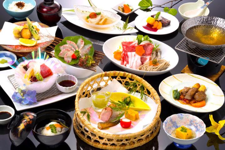 新鮮な魚介類を使ったお料理